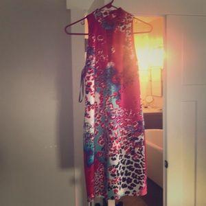 Bebe print dress